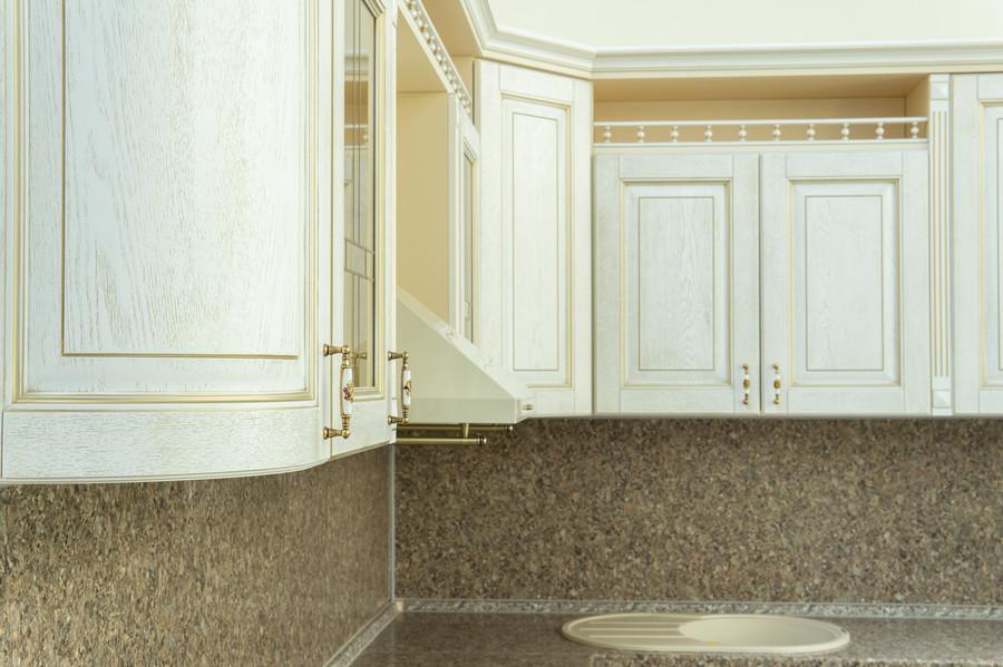Бежевые кухни-Кухня МДФ в пластике «Модель 50»-фото3