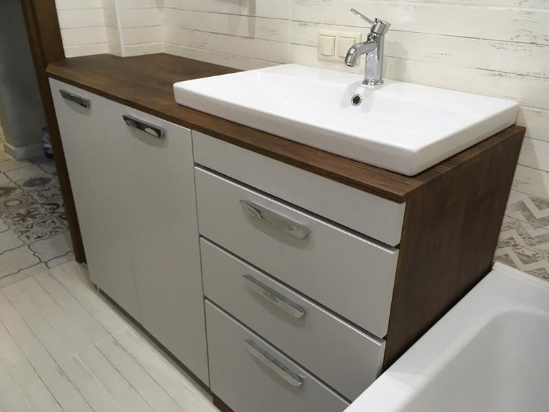 Мебель для ванной комнаты-Мебель для ванной «Модель 1»-фото1