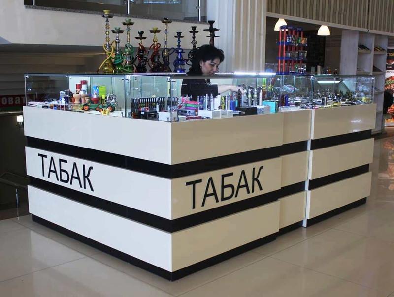 Торговая мебель-Торговый островок «Модель 252»-фото1