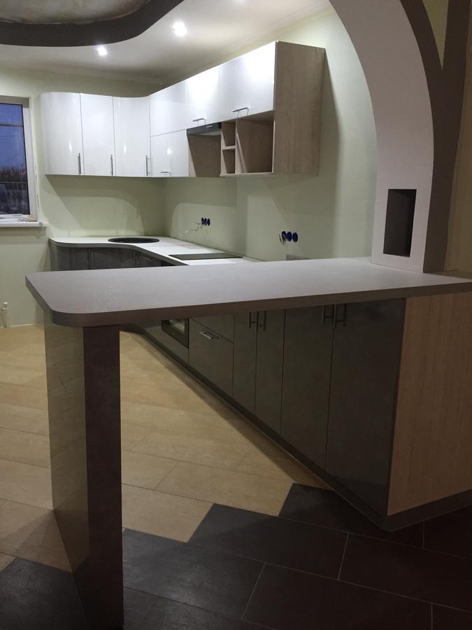 Белый кухонный гарнитур-Кухня «Модель 507»-фото5
