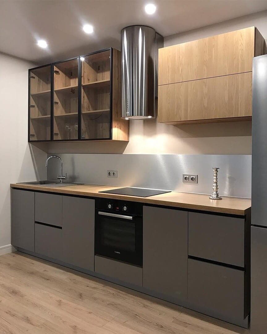 Купить кухню-Кухня из пластика «Модель 668»-фото1