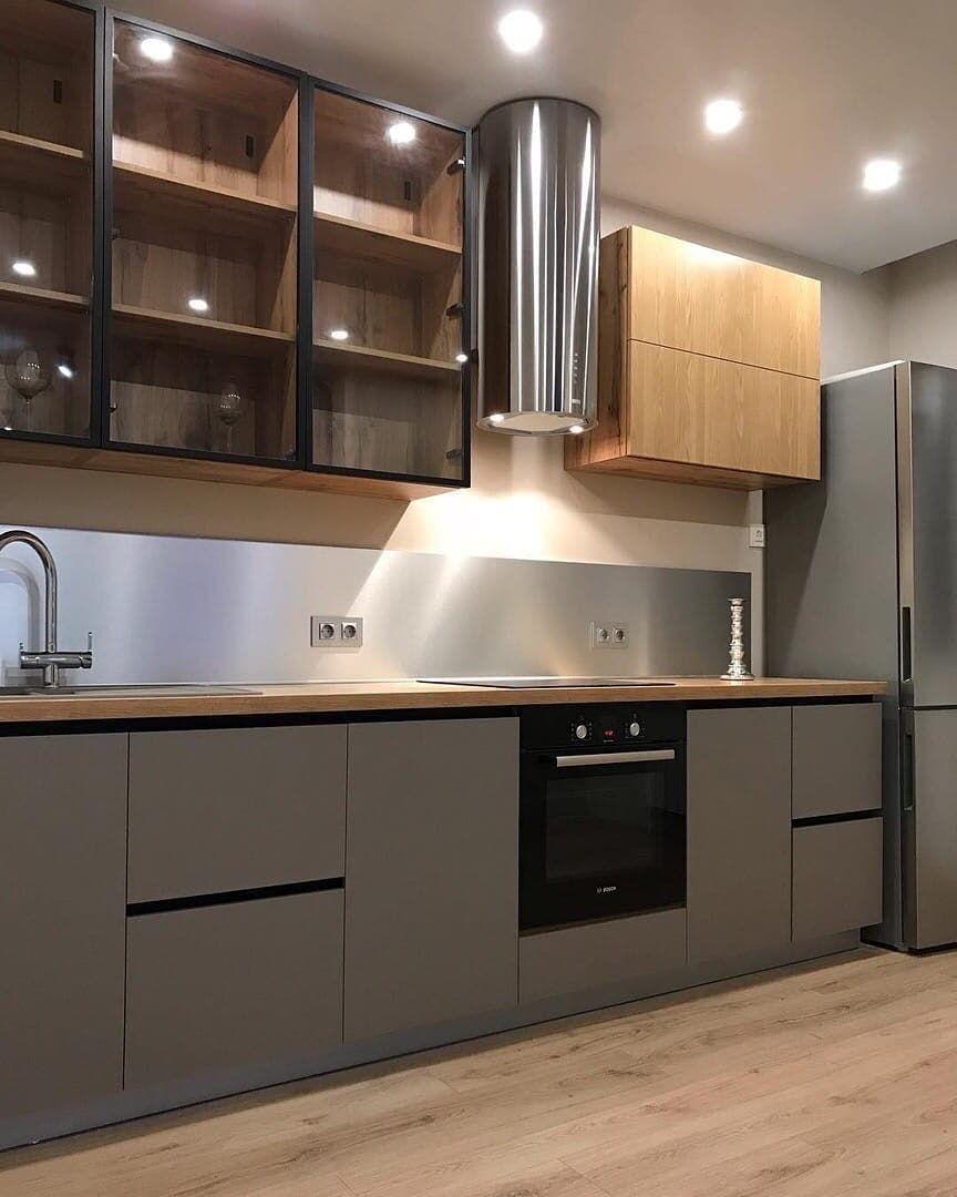 Купить кухню-Кухня из пластика «Модель 668»-фото2