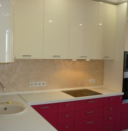 -Кухня МДФ в эмали «Модель 252»-фото3