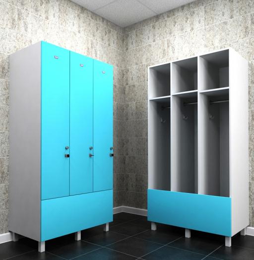 -Шкафчики для раздевалки «Модель 165»-фото10
