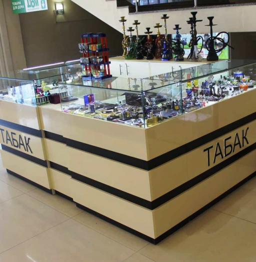 Торговая мебель-Торговый островок «Модель 252»-фото4