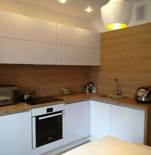 -Кухня из пластика «Модель 438»-фото21