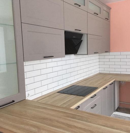 -Кухня МДФ в ПВХ «Модель 441»-фото22