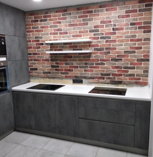 -Кухня МДФ в ПВХ «Модель 442»-фото14