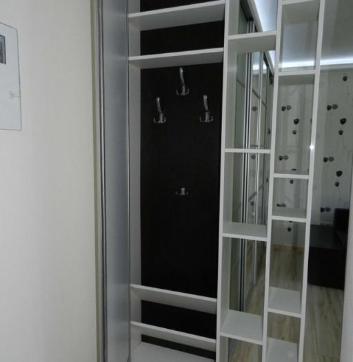 Бельевой шкаф-купе-Шкаф-купе с зеркалом «Модель 304»-фото10