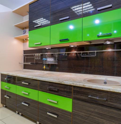 -Кухня из пластика «Модель 55»-фото12