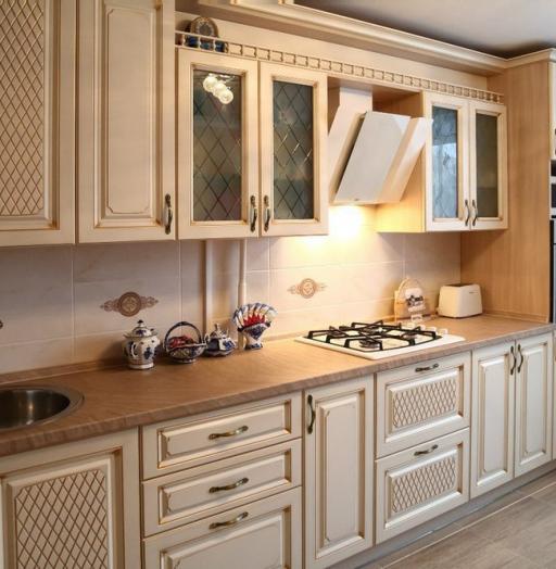 -Кухня из пластика «Модель 135»-фото18