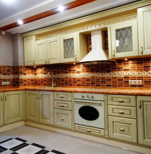 -Кухня МДФ в эмали «Модель 301»-фото28