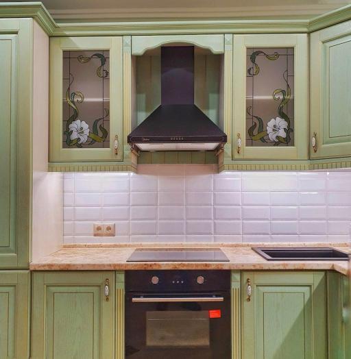 -Кухня из шпона «Модель 559»-фото26