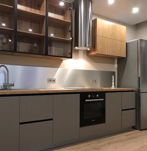 Купить кухню-Кухня из пластика «Модель 668»-фото3